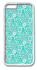 IMARTCASE iPhone 6 Case, Aqua Retro Circles PC Hard Case Cover for Apple iPhone 6 Plus 5.5 by ruishernameMaris's Diary