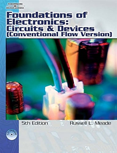 (Foundations of Electronics: Circuits & Devices Conventional Flow)