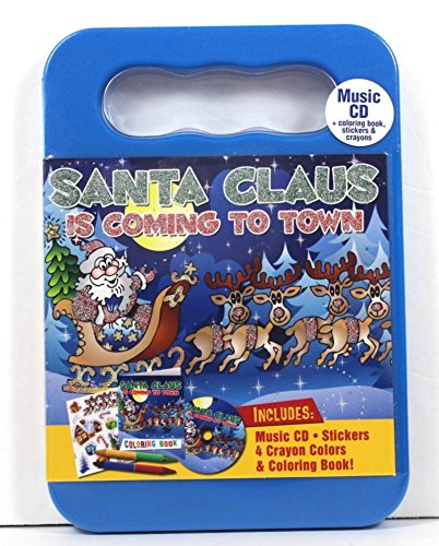 SANTA CLAUS IS COMING TO TOWN CD (Activity Kit with Carrying Case,...