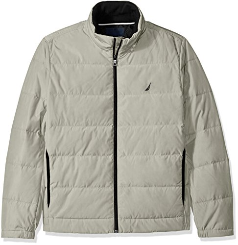 Nautica Mens Quilted Down Blend Jacket