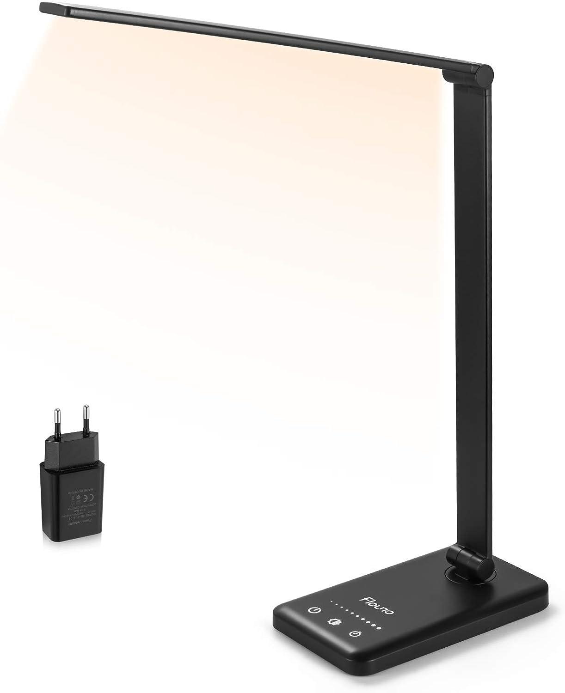 Lámpara de escritorio Flauno Flexo LED con puerto USB por 14,99€ (marcando aplicar cupón)