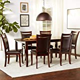 Furniture of America Carlson 7-Piece Dining Table