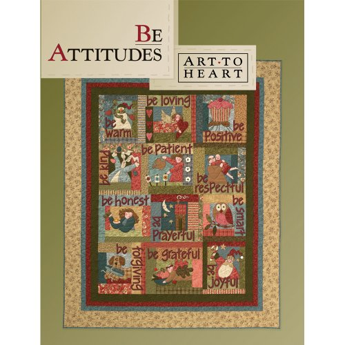 Art To Heart Book, Be Attitudes -