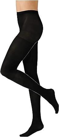 HeatGuard Femmes Collants Thermiques Collants Opaque pour femmes Dames Hiver Collant Taille Sml Noir