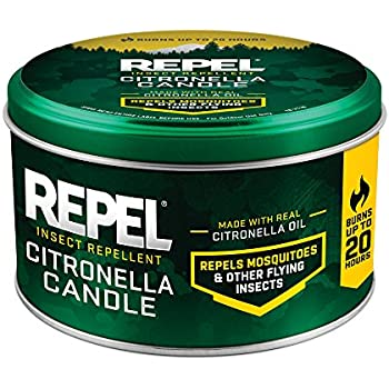 Repel HG-64090 64090 10-Ounce Citronella Insect Outdoor Candle, Case Pack of 1