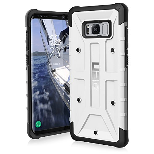 UAG Samsung Galaxy S8+ [6.2-inch screen] Pathfinder Feather-Light Rugged [WHITE] Military Drop Tested Phone Case