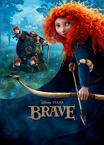 Brave  - Arrow - 13 in x 19 in Movie Poster Flyer BORDERLESS
