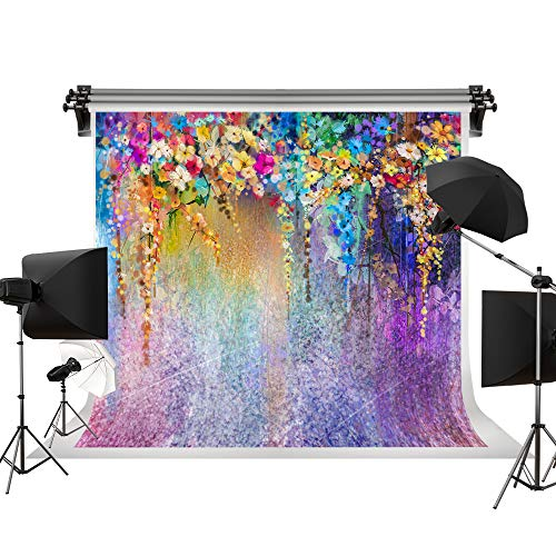 Kate 10X10ft/3x3m Wedding Background Spring Backdrop Colorful Fantasy Background Colorful Flowers Children Background Photo Props