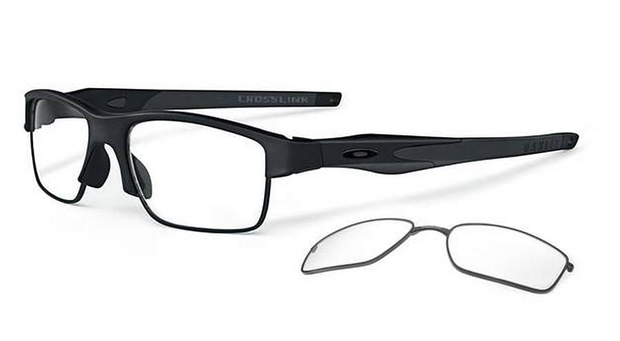 24bd6e36235 ... where can i buy oakley mens crosslink switch active optical frame satin black  black black 53mm