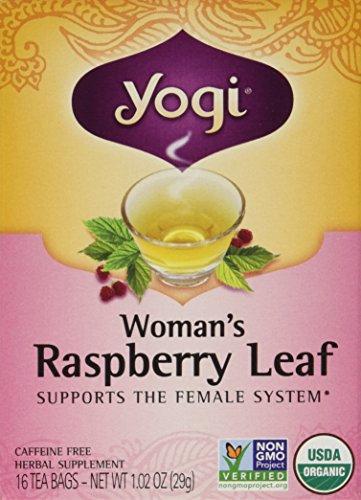[Yogi Teas: Woman's Raspberry Leaf Tea, 16 ct (3 pack)] (Yogi Raspberry Tea)