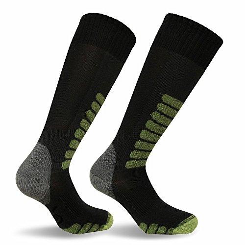 Eurosocks Ski Supreme Socks, Charcoal, Sock Size:10-13/Shoe Size: 6-12 by Eurosocks