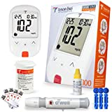 O'Well Tyson Blood Glucose Diabetes Testing Kit + 50 Refills | Includes: Meter, 50 Test Strips, 50 Lancets, Lancing Devices, Control Solution, Manuals, Logbook & Carry Case