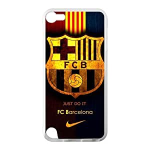 Fashion FC Barcelona Football Club Ipod Touch 5 Cell Phone Cases Cover Popular Gifts(Laster Technology)