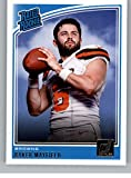 #10: 2018 Donruss Football #303 Baker Mayfield RC Rookie Card Cleveland Browns Rated Rookie Official NFL Trading Card