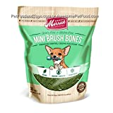 Merrick Mini Brush Dental Bone 30 Count (Case of 6 bags of 10oz 30count)