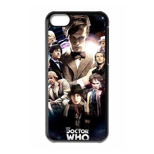W1F66 Doctor Who S3V9ZD cas d'coque iPhone de téléphone cellulaire 5c couvercle coque noire KV0WEP5UD