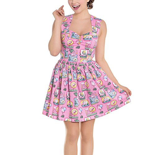 Maxine rosa Rosa Dress Mini 4688 Hell Kleid Bunny Eqw446