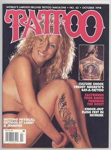TATTOO Magazine October 1994 No. 62 (World\'s largest selling tattoo ...