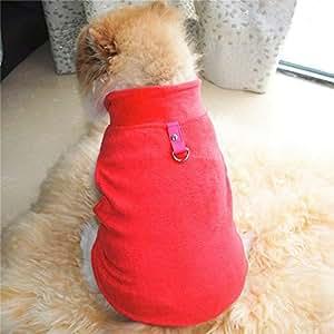 Amazon.com : Cowmole Co. Winter Fleece Pet Clothes for