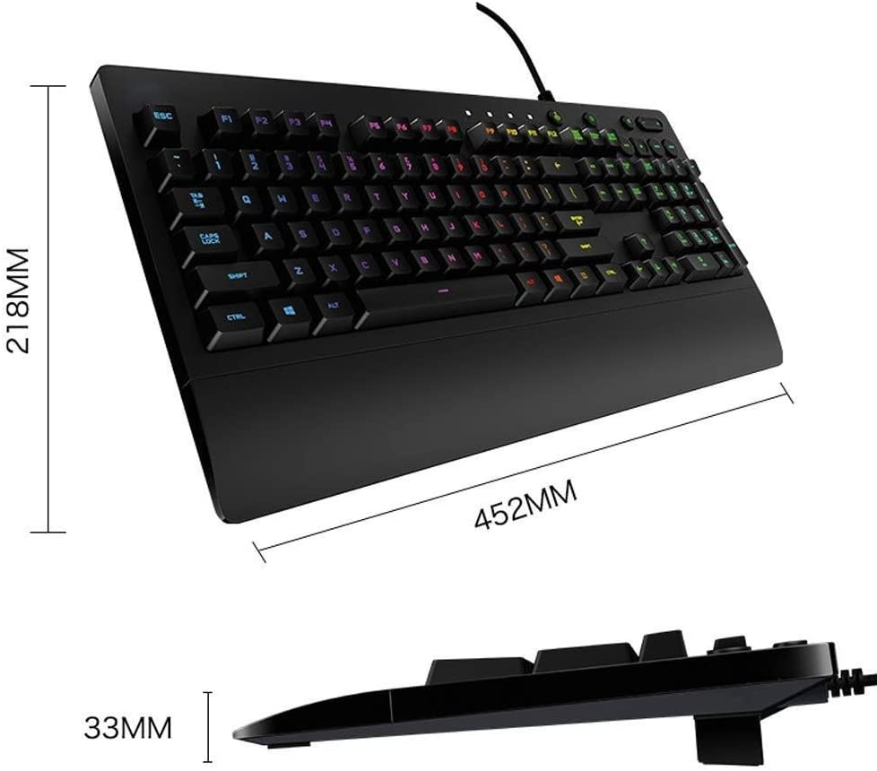 Tbagem-Yjr Game Esports Computer Keyboard Backlight USB Interface Waterproof Keyboard