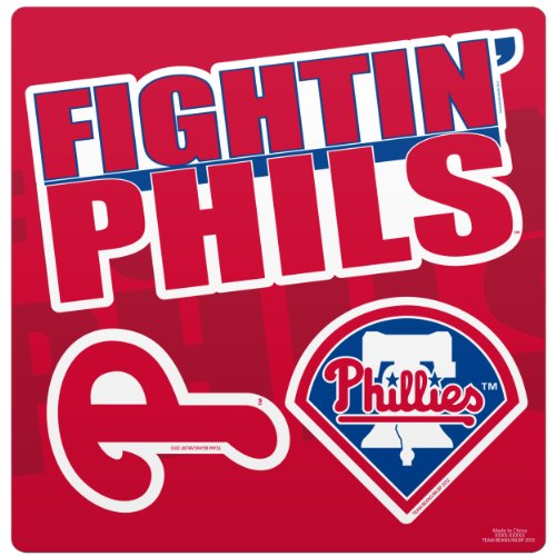 (Philadelphia Phillies Slogan Magnet Sheet)
