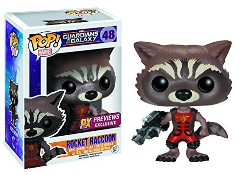 PX Exclusive Guardians of the Galaxy Rocket Raccoon Ravagers Pop! Vinyl Bobble Figure by FunKo