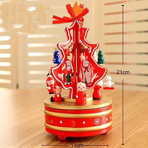lianji caja musical, caja de música para árbol de Navidad, regalo ...