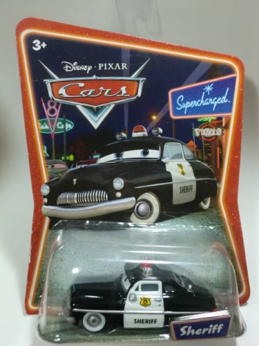 Sheriff Supercharged ([Mattel] MATTEL Cars Disney Pixar Cars Sheriff Supercharged (japan)