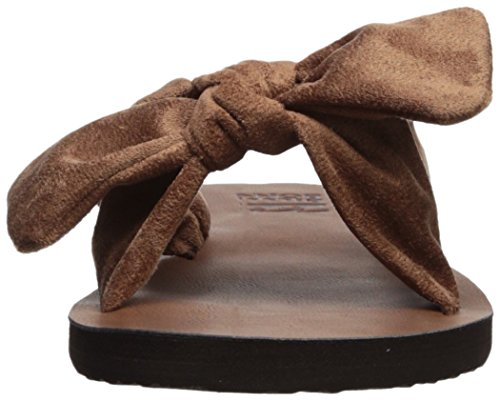 Billabong Dames Vastgebonden Platte Sandaal Woestijn Bruin