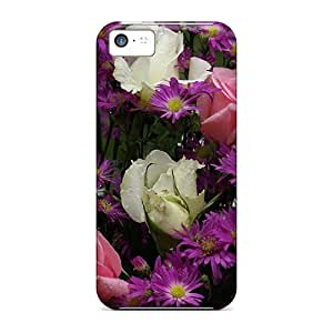 Durable Summer Bouquet 3 Back Case/cover For Iphone 5c