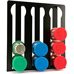 Nespresso Capsule Holder Stand For Originalline Nespresso Pods - Vertical Patent-pending Coffee Pod Storage For Up To 12 Pods