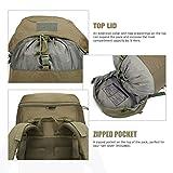 Mardingtop 50L Hiking Backpack Molle Internal Frame