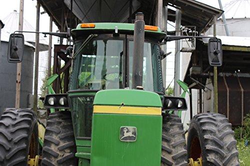Tractor Extension Mirror Kit for John Deere Sound Gard 4030 4230 4430 4630 8630 2140 2940 4040 4240 4440 4640 4840 2350 2550 2750 2950 3150 2WD tractors