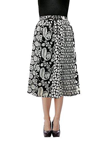 Cotton Breeze Women's Cotton Skirt (Red)