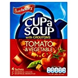 Batchelors Cup a Soup with Croutons Tomato & Vegetable (4 per pack - 104g)