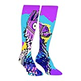 BMN&GAO For-tnite Llama Long Stockings Knee High Family Socks