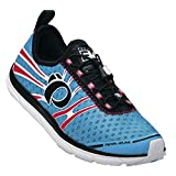 Pearl Izumi Women's W Em Tri N 1 Ba/ep Tri Running Shoe, Blue Atoll/Electric Pink, 9.5 B US Review