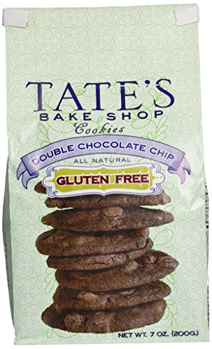 Tate's Bake Shop Gluten Free Cookies - Double Chocolate Chip - 7 oz