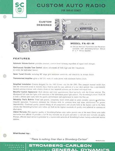 Review 1961 Mercury Comet Custom
