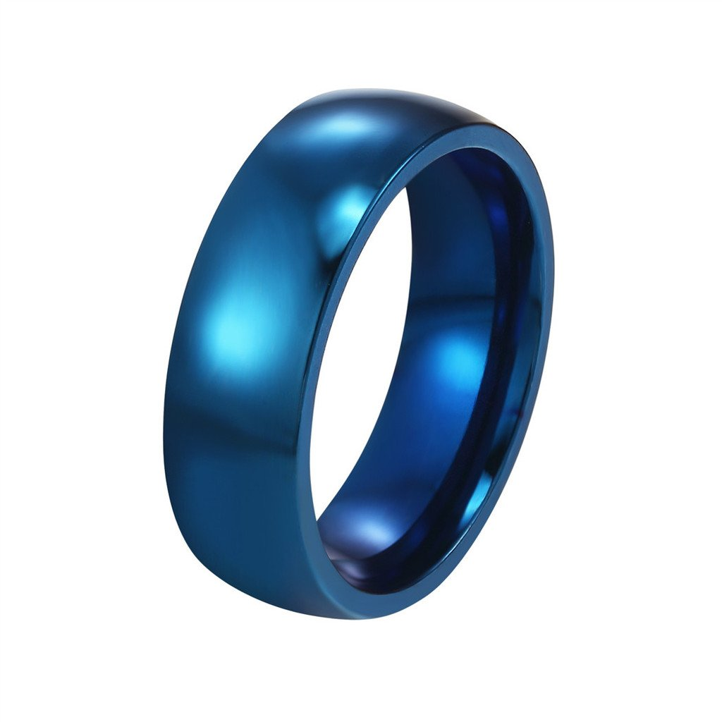 Bands Simple Ring Women Men Love Jewelry for Bridal Wedding 5mm Bands PSR2522 PROSTEEL PROSTEEL Jewelry CA-PSR2522