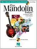 Play Mandolin Today! Level 1 Complete Guide To The Basics Tab Bk/Cd (Ultimate Self-Teaching Method!)