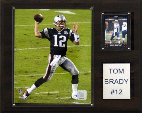 Tom Brady Pictures (NFL Tom Brady New England Patriots Player Plaque)