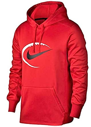 c1f9d07d025e4 Image Unavailable. Image not available for. Color: NIKE Men's Therma  Football Hoodie ...