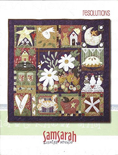 (SamSarah Design Studio Quilt Pattern RESOLUTIONS - Multiple Use Block Patterns)