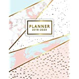 2019-2023 Planner: Five Year Planner Pink Gold Marble with 60 Months Calendar, 5 Year Schedule Organizer, Agenda Business Planner Logbook Appointment Notebook.