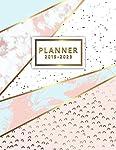 2019-2023 Planner: Five Year Planner Pink Gold Marble with 60 Months Calendar, 5 Year Schedule Organizer, Agenda Business...