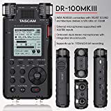 Tascam DR-100mkIII Linear PCM Recorder and Deluxe