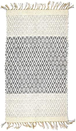 Indra - Alfombra (algodón Reciclado, Reversible, 70 x 115 cm ...