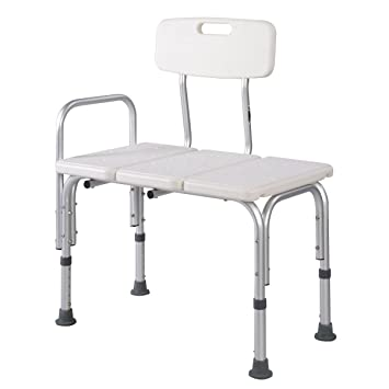 Amazon.com: Giantex Shower Bath Seat Medical Adjustable Bathroom ...