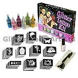 Girls Glitter Tattoo Kit